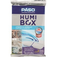 ABSORBE HUMEDAD MAL OLOR 2X60GR HUMIBOX LAVANDA PASO 2