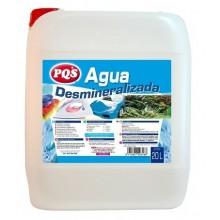 AGUA DESMINERALIZADA PQS  20 LT