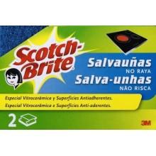 """ESTROPAJO LIMP SALVAU""""AS FIBRA AZ SCOTCH-BRITE 2 PZ"""