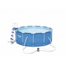 PISCINA PVC CIRCULAR 366X122CM 10250LT STEEL PRO FP BESTWAY