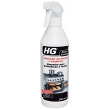 LIMPIADOR BARBACOAS HORNOS GRILLS HG 500 ML