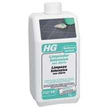 LIMPIADOR INTENSIVO SUELO NO ESMALTADOS USO DIARIO PROFESIONAL HG 1 LT