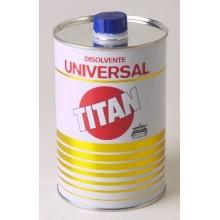 DISOLVENTE UNIVERSAL PARA PINTURA TITAN 5 LT