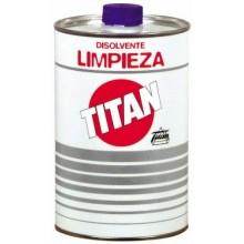 DISOLVENTE LIMPIEZA UTENSILIOS PINTOR TITAN 1 LT