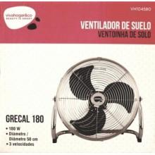 VENTILADOR SUELO 50CM IND 180W-3V GR GREGAL 180 VIVAHOGAR