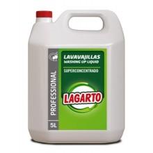 LAVAVAJILLAS LIQUIDO CONCENTRADO LAGARTO PROFESIONAL 5 LT