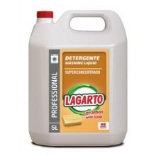 DETERGENTE LIQUIDO LAGARTO PROFESIONAL AL JABON CONCENTRADO