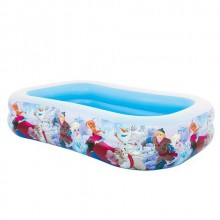 PISCINA HINCHABLE FROZEN  RECTANGULAR 262X175X56CM