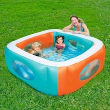 PISCINA HINCHABLE INFANTIL WINDOW 168X168X56CM