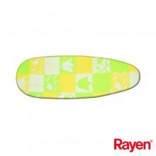 FUNDA TABLA PLANCHAR 130X45CM AL/ESP RAYEN