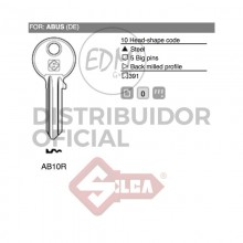 LLAVE ACERO AB10R ABUS