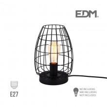 LAMPARA  SOBREMESA E27 METALICA EDM