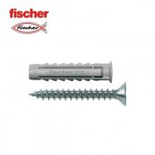 BLISTER TACO+TORNILLO FISCHER  SX 6X30 SK NV 15UDS TORNILLO 40MM