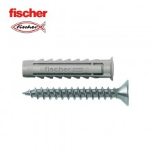 BLISTER TACO+TORNILLO FISCHER  SX 8X40 GKS K NV 10UDS TORNILLO 45MM