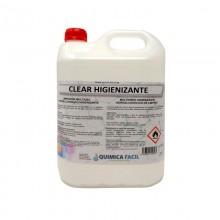 HIGIENIZANTE CLEAR ZONA 5L QUIMICA FACIL