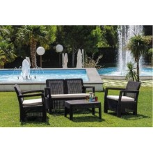 MUEBLE JARDIN CURVER PP MARR LOUNGE 1SOF 2SILL 203588 4 PZ
