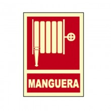 CARTEL SEÑAL MANGUERA FOTOLUMINISCENTE HOMOLOGADO