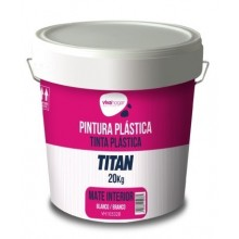 PINTURA PLASTICA MATE 20 KG BL INT. VIVAHOGAR VH