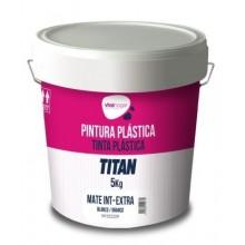 PINTURA PLASTICA MATE 5 KG BL INT. EXTRA VIVAHOGAR VH