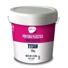 PINTURA PLASTICA MATE 12 KG BL INT. EXTRA VIVAHOGAR VH