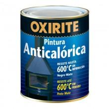 OXIRITE PINTURA ANTICALORICA NEGRO MATE 0.750L