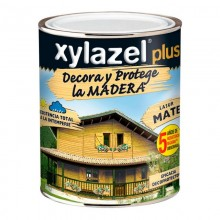 XYLAZEL PLUS DECORA MATE CASTAÑO 0.750L