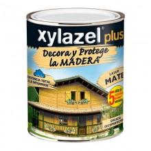 XYLAZEL PLUS DECORA MATE NOGAL 0.375L