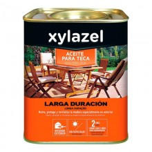 XYLAZEL ACEITE PARA TECA LARGA DURACION COLOR NOGAL 5L