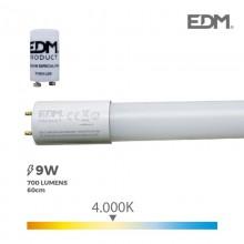 TUBO LED T8 9W 700 LM 4000K LUZ DIA EDM