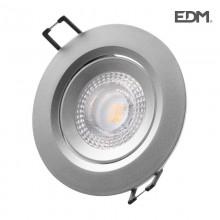 DOWNLIGHT LED EMPOTRAR 5W 380 LUMEN 4.000K REDONDO MARCO CROMO EDM