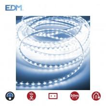 TIRA DE LED 60LEDS/MTS 4,2W/MTS AZUL EDM 220-240V (USO INTERIOR-EXTERIOR) EURO/MTS