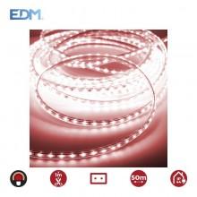 TIRA DE LED 60LEDS/MTS 4,2W/MTS ROJO EDM IP44 220-240V - EURO/MTS