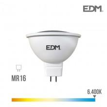 BOMBILLA DICROICA LED GU5.3 12V 5W 450 LM 6400K LUZ FRIA EDM