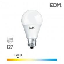 BOMBILLA STANDARD LED E27 12W 1055 LM 3200K LUZ CALIDA EDM