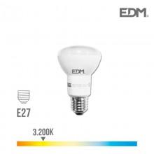 BOMBILLA REFLECTORA LED R63 E27 7W 470 LM 3200K LUZ CALIDA EDM