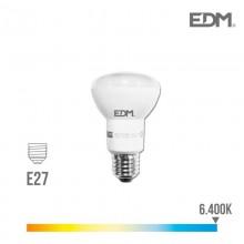 BOMBILLA REFLECTORA LED R63 E27 7W 470 LM 6400K LUZ FRIA EDM