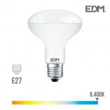 BOMBILLA REFLECTORA LED R90 E27 12W 1055 LM 6400K LUZ FRIA EDM