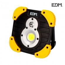 LINTERNA FOCO RECARGABLE LED XL 750 LUMEN EDM