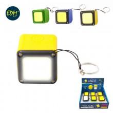 LINTERNA LED RECARGABLE CON USB E IMAN COB 300 LUMENS