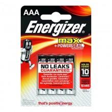 PILA ENERGIZER MAX POWERSEAL TECHNOLOGY LR03 AAA (BLISTER 4 PILAS)