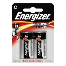 PILA ENERGIZER ALKALINE POWER LR14 C (BLISTER 2 PILAS)