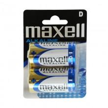 PILA ALKALINA MAXELL LR20-B2 1,5V D (BLISTER 2 PILAS)