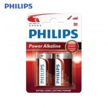 PILA PHILIPS ALKALINA LR14 C (BLISTER 2 PILAS)