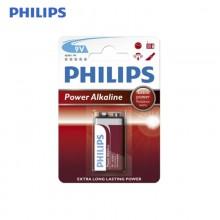 PILA PHILIPS ALKALINA 6LR61 9V (BLISTER 1 PILAS)