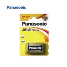 PILA ALKALINA PANASONIC BRONZE 6LR61 9V (BLISTER 1 PILA)