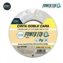 CINTA DOBLE CARA 10MX18MM EDM