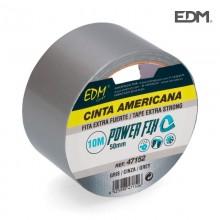 CINTA MULTIUSO AMERICANA 10MX50MM GRIS EDM
