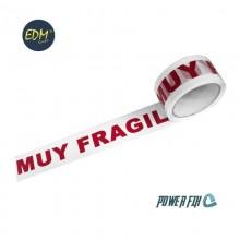 PRECINTO MUY FRAGIL 48MICRAS 50MX50MM EDM