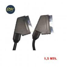 EUROCONECTOR SUPRA 1,5 MTS. 21 PINS 10 MM.