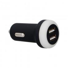 CARGADOR PARA COCHE 2 USB 1A 12/24V